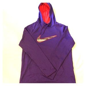 fb50c5414ce6 Women s Purple Nike Hooded Sweater on Poshmark